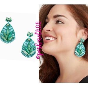 :: S&D Hand-beaded Persephonie Statement Earrings